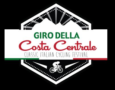 Giro della Costa Centrale Logo Concept Design
