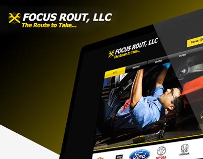 Focus Rout, LLC Website
