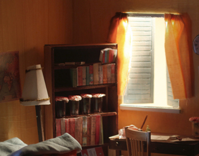 Character Room - Gerry Durrell
