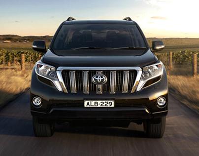 Toyota - New-Look Prado YouTube masthead