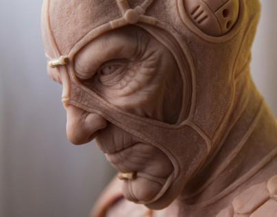 Scorpius Sculpture