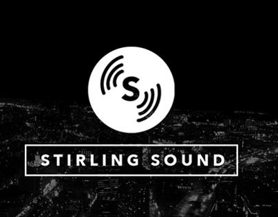 Stirling Sound Logo and Branding