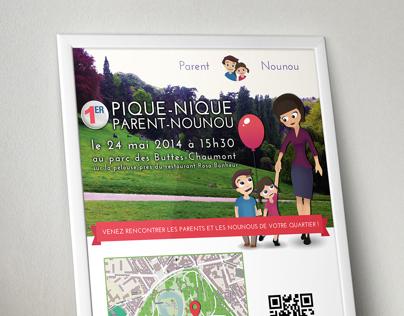 Parent Nou Nou Poster