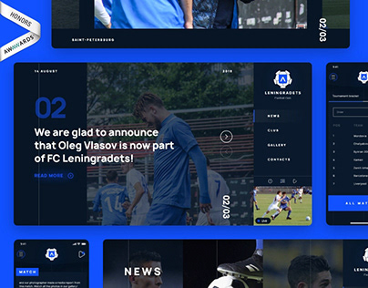Leningradets | Football Club Website