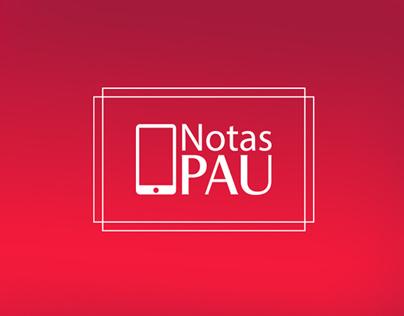 PAU Notes App Promotional Poster (selectivity) UVA