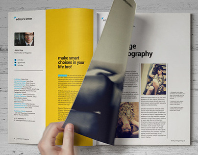 Print & Digital Magazine Templates