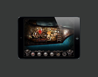 Steampunker Game iPad Screenshots