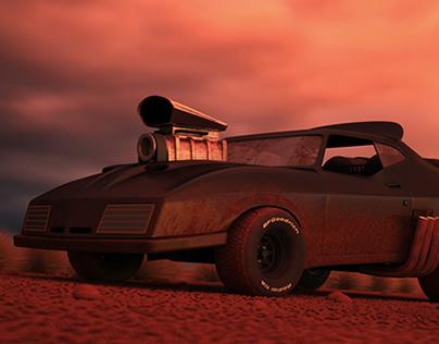 Mad Max 2  Interceptor 3D