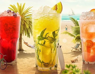 Summer Cocktails | «Two Sticks» restaurant