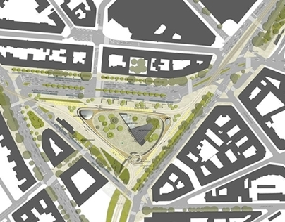 Space reconstruction of Széll square   competition
