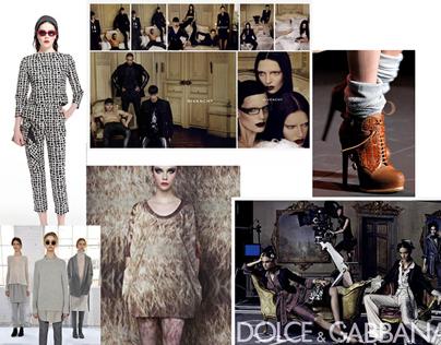 Fashion Lookbook- SSENSE Process Book