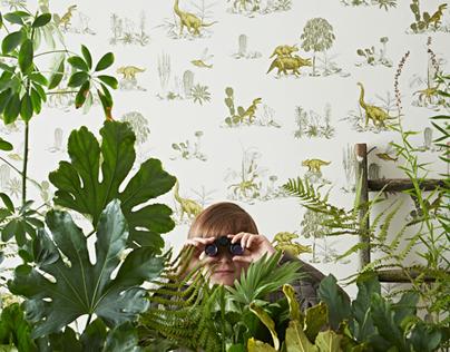 Magnetic Dino Wallpaper