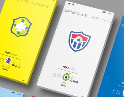 World Cup 2014 Windows Phone App