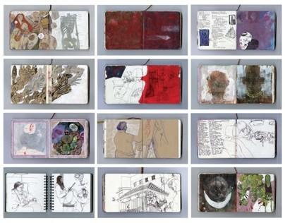 Selected Sketchbook Pages: Set 1