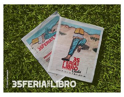 Aplicación cartel oficial 35Feriadel Libro