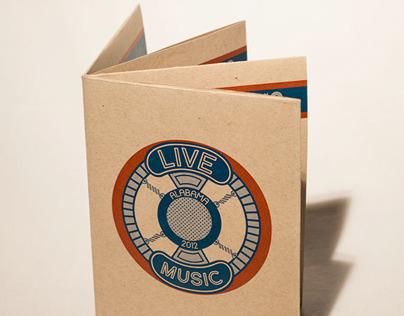 Alabama Music Brochure