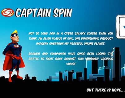 Uber Heroic Website Copy for Captain Spin