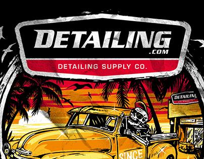 Illustration design for Detailing Co. - USA