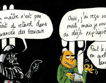 """#01""""L'ÉTOILE NOIRE RESTE OUVERTE PENDANT LES TRAVAUX"""""""