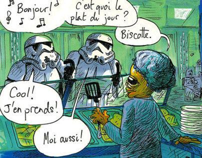 """#03""""L'ÉTOILE NOIRE RESTE OUVERTE PENDANT LES TRAVAUX"""""""