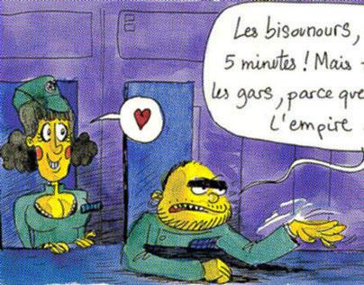 """#04""""L'ÉTOILE NOIRE RESTE OUVERTE PENDANT LES TRAVAUX"""""""