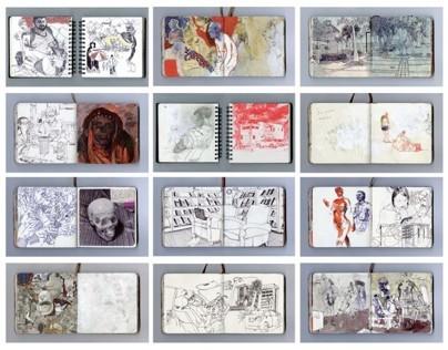 Selected Sketchbook Pages: Set 3