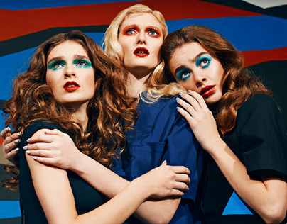 Three Woman-Paper Magazine