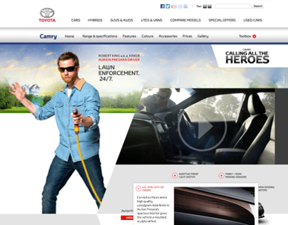 Toyota - Calling All The Heroes Digital Campaign