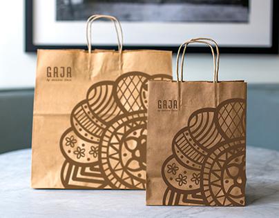 GAJA   Brand Identity, Branding System