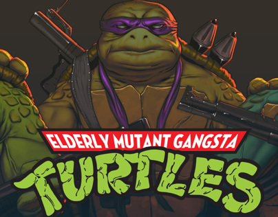 Elderly Mutant Gangsta Turtles