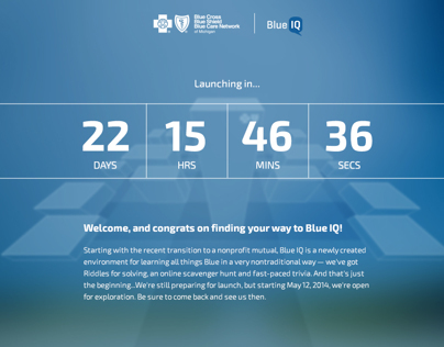 BCBSM BlueIQ Social Sharing Challenge