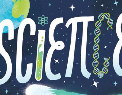 I Love Science Print