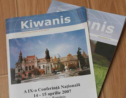Kiwanis magazine - for the Kiwanis Oradea organisation