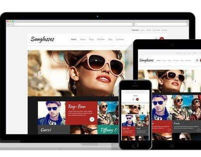 Sunglasses Store Responsive WooCommerce Theme
