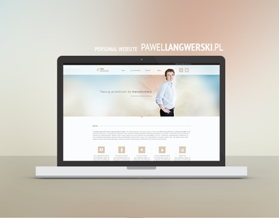 Pawel Langwerski Website