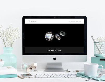 Website Design & Development - Sky Dia