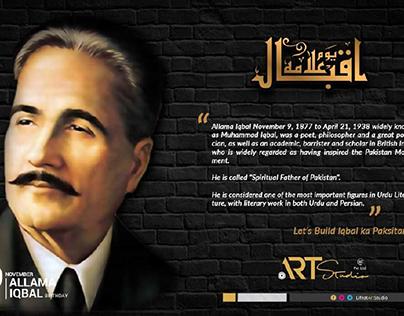 Iqbal Day Post Design