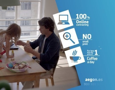 PACKSHOT MOTION DESIGN :: AEGON INSURANCE