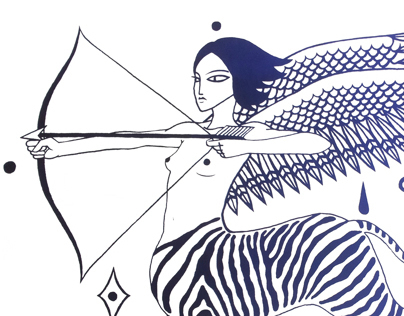 Silkscreen Prints / Sérigraphies / Zebra