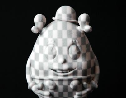 Adobe Creative Cloud, Charlie and the 3D Egg. 3D Print