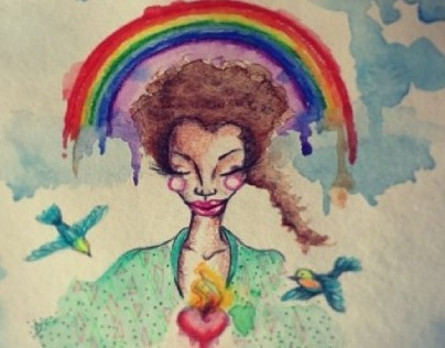 Be a rainbow in somebody else's cloud