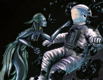 The Little Mermaid: In Space