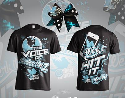 Cheer Updates Fan T Shirt Design 2014 On Behance: cheerleading t shirt designs
