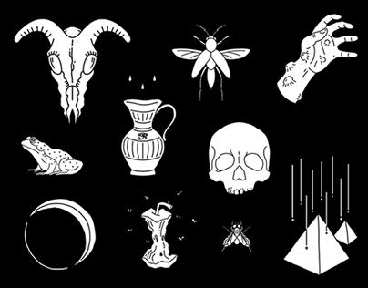 Plagues Illustration Series
