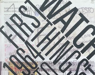 Postmodern Manifesto Design
