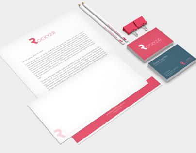 rocky23.com Branding