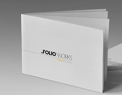 FolioWorks Brochure Template