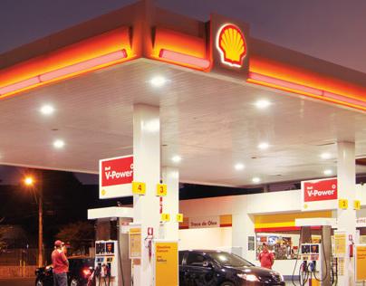 Anúncio Posto Faleiro Shell