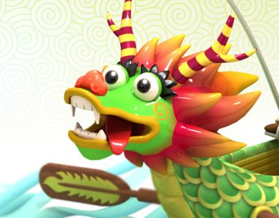 Dragon Boat Festival eCard 端午節賀卡