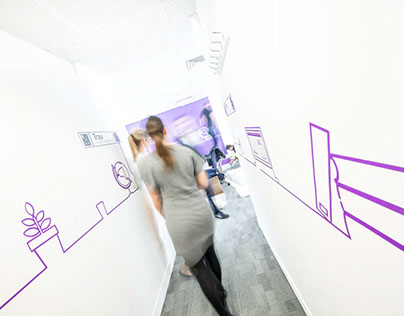 Trax Retail - Office Branding